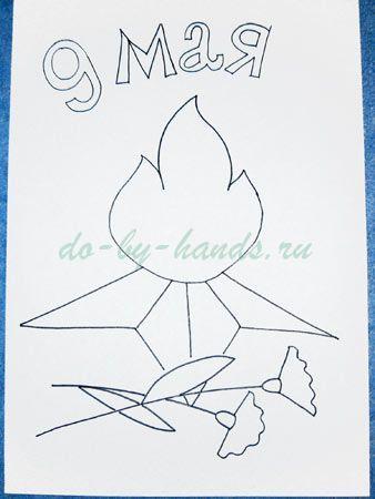 рисунки на 9 мая карандашом поэтапно призывников, помощь