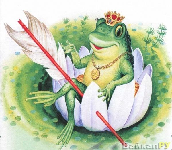 лягушка картинка царевич