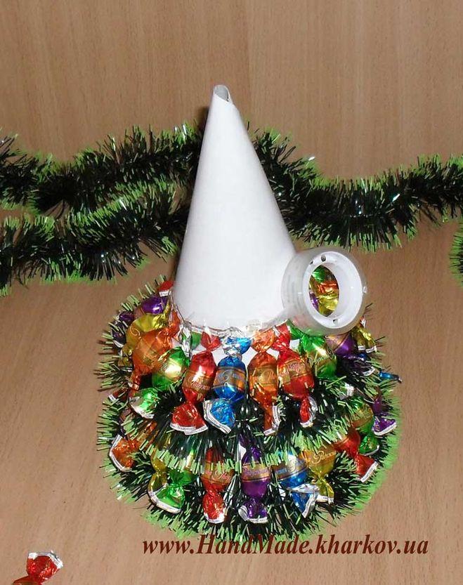 Поделки новогодних елок своими руками