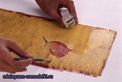 Декупаж мебельной стенки салфетками своими руками 5