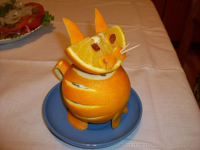 Поделка из апельсина в детский сад 62