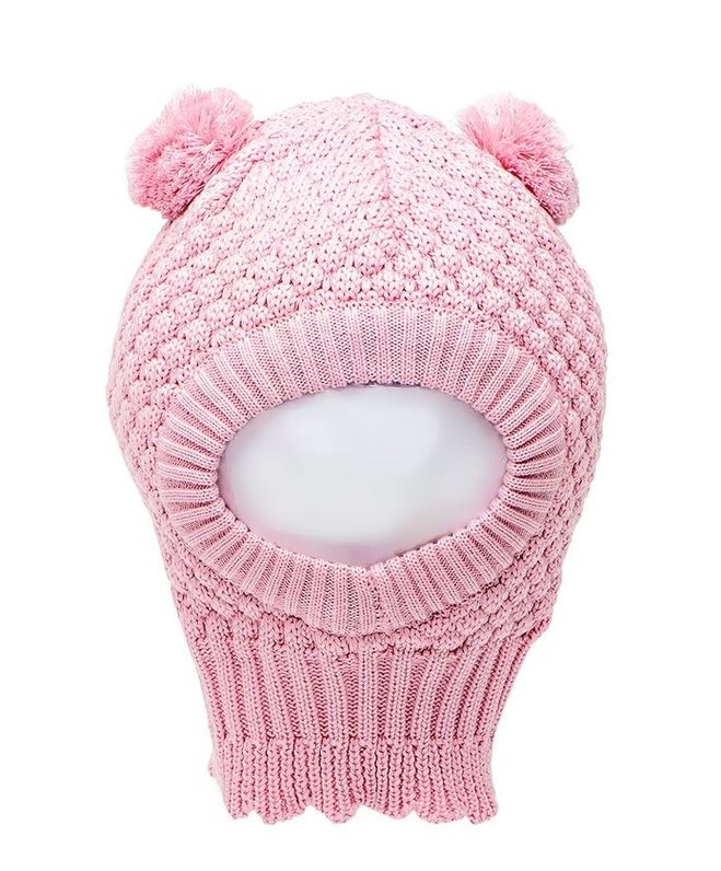 Вязание детской шапки-капор 23
