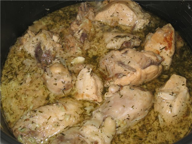 Тушеное куриное филе в сметане рецепты