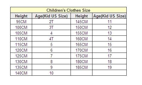 Дитячі розміри на Аліекспресс. Як зрозуміти розміри  8e5692d8be0c8