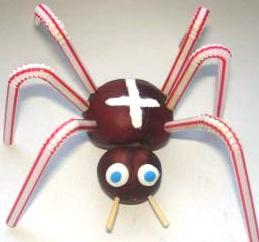 Как сделать поделку паука своими руками 60