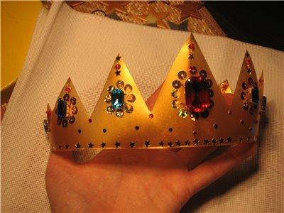 Сделать корону своими руками 45