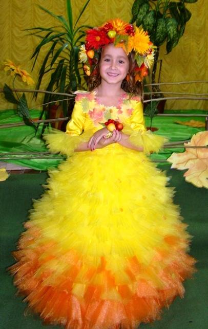 Костюм на праздник осени для девочки фото